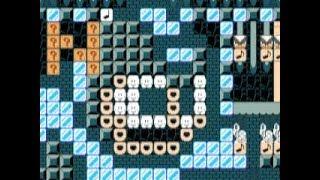 Mini Melody ~ Mega Man 2 Theme 🎺 by Zach 🎺 Super Mario Maker Raw Gameplay