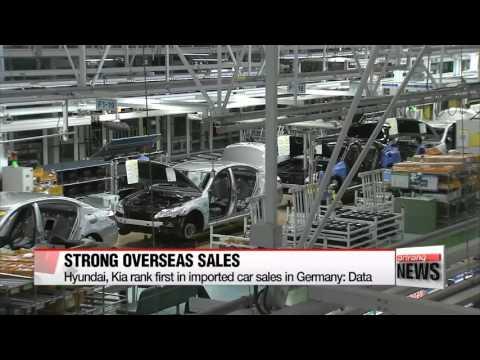 Hyundai, Kia rank first in imported car sales in Germany   명차 본고장 독일서 현대기아차 ′수입차