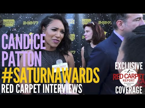Candice Patton #TheFlash interviewed at the 43rd Annual Saturn Awards #SaturnAwards