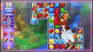 Wonka's World of Candy Level 461 - NO BOOSTERS + FULL STORY ???? | SKILLGAMING ✔️