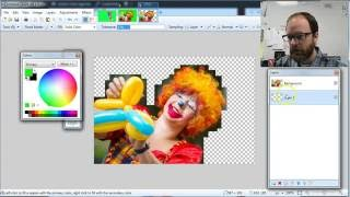 How To Delete A Background from A Picture Using Paint Net Magic Wand or by Hand