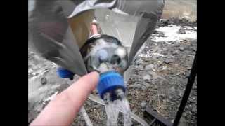 Working Model Liquid Fueled Rocket Engine