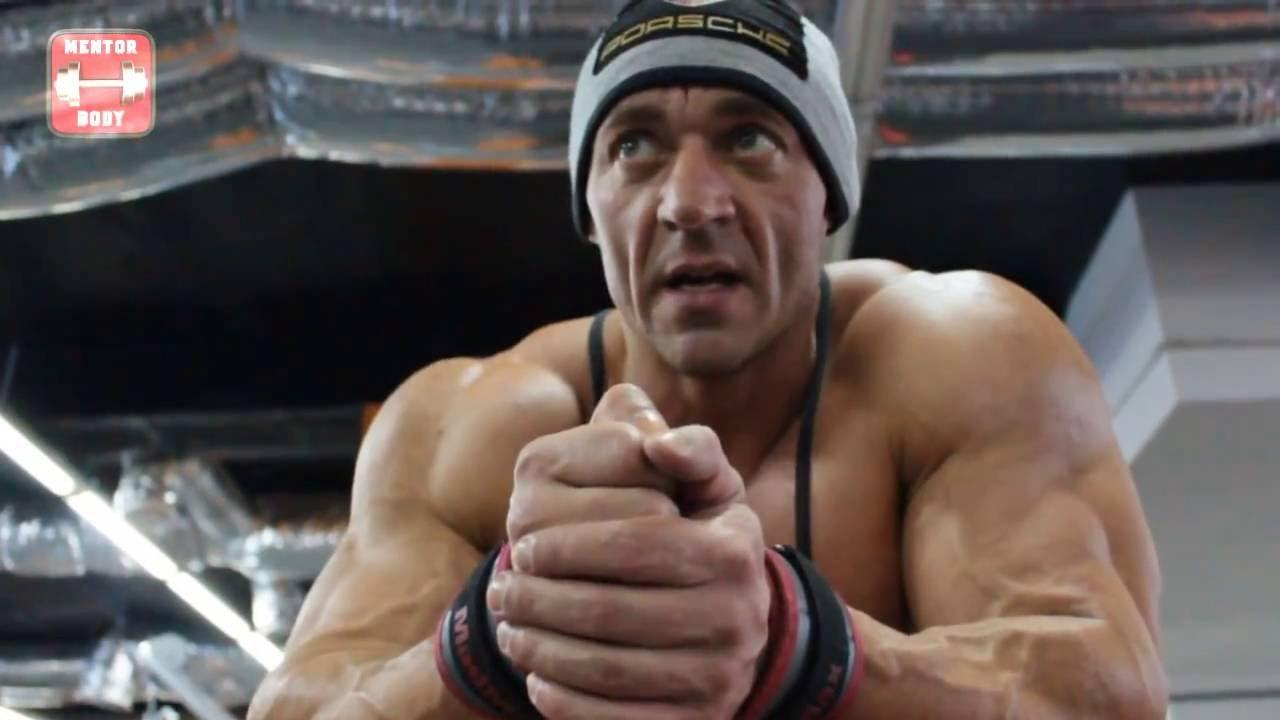 Тренировка спины.Упражнения для низа спины Сергея Бабчука за 12 дней до Чемпионата Мира WBPF 2015