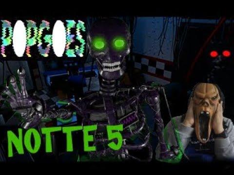 Popgoes #4 Ho visto l'animatronic segreto, SIMON! Cose strane accadono nella NOTTE 5