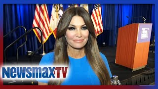 Kim Guilfoyle live from Iowa Caucus on Trump campaign numbers