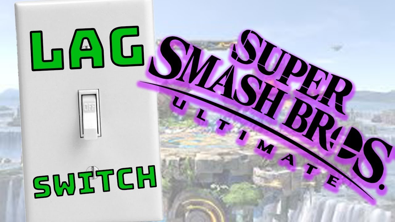 Homemade Lag Switch - Smash Brothers ULTIMATE