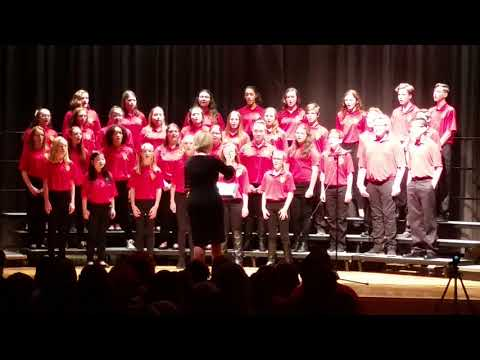 """""""Cantate Domino"""" Rossview Middle School Honor Choir"""