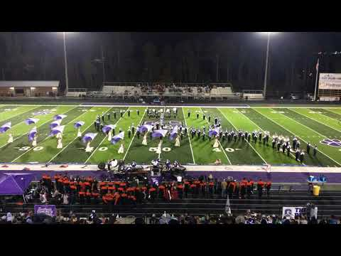 Gilmer County High School Marching Band.....Love, Peace, and Joy. Final 2018 performance 11/1/18