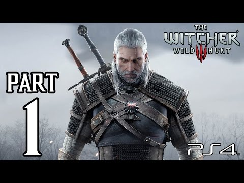 The Witcher 3 Wild Hunt Walkthrough PART 1 (PS4) Gameplay No Commentary [1080p] TRUE-HD QUALITY