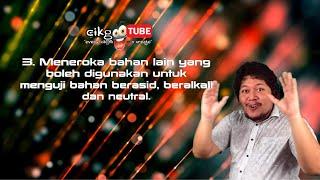 Sains Tahun 3: Pengganti Kertas Litmus #cikgooTube #CikguZoul  (Bah.3)