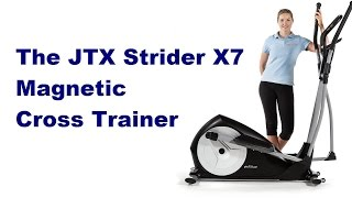 JTX Strider X7 Magnetic Cross Trainer