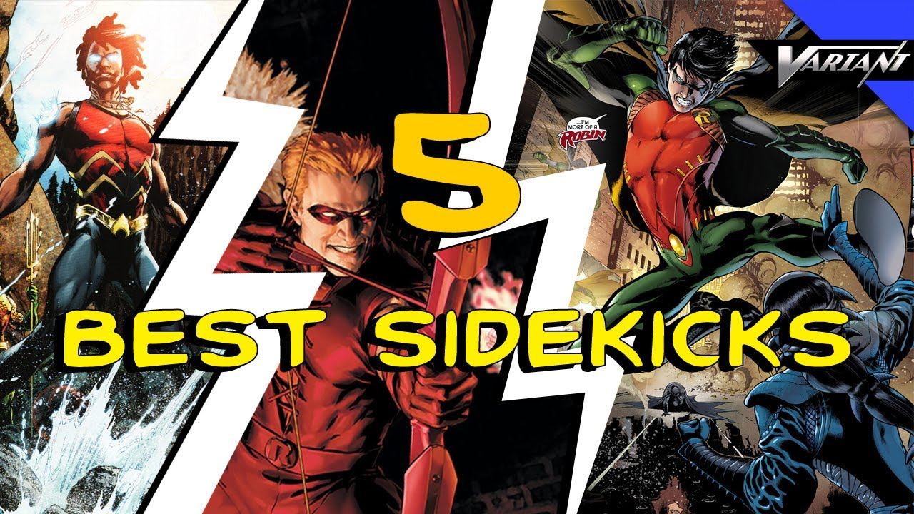 Top 5 Best Sidekicks In Comic Books!