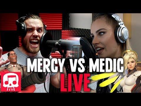 Mercy vs Medic Rap Battle LIVE by JT Music