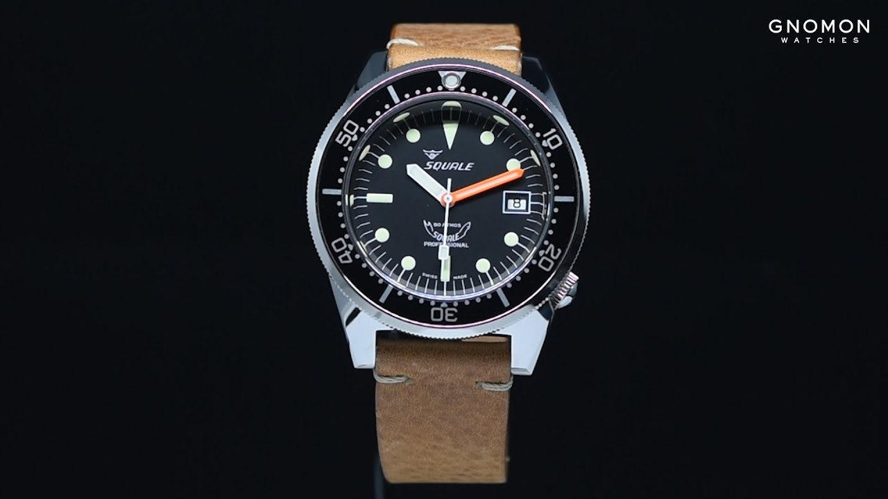 watch black gnomon a squale atmos watches youtube