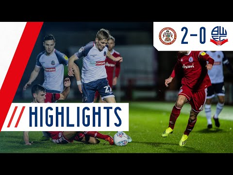 HIGHLIGHTS | Accrington Stanley 2-0 Bolton Wanderers