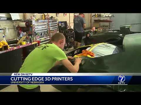Cutting edge 3D printers at the University of Nebraska