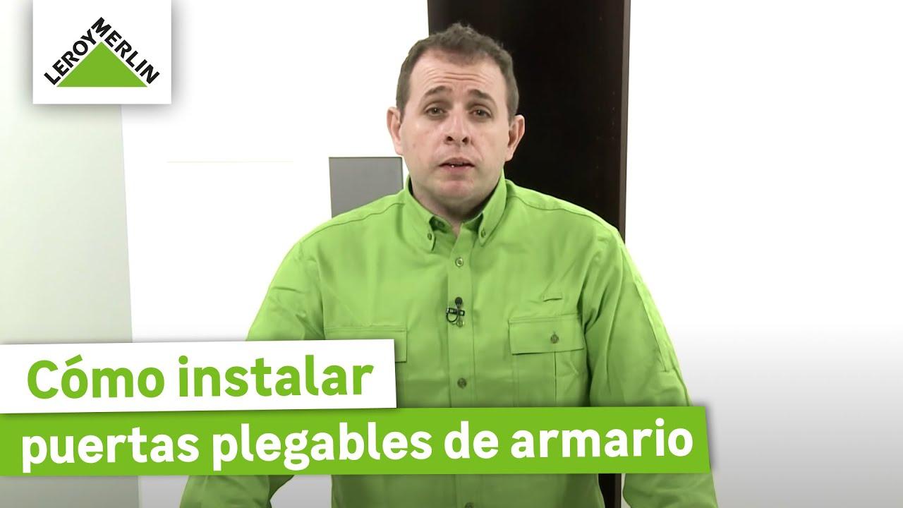 C mo instalar puertas correderas de armario leroy merlin - Como instalar una puerta corredera ...