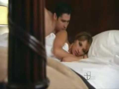 """Victoria y Bruno hacen el amor (telenovela """"Eva Luna"""")"""