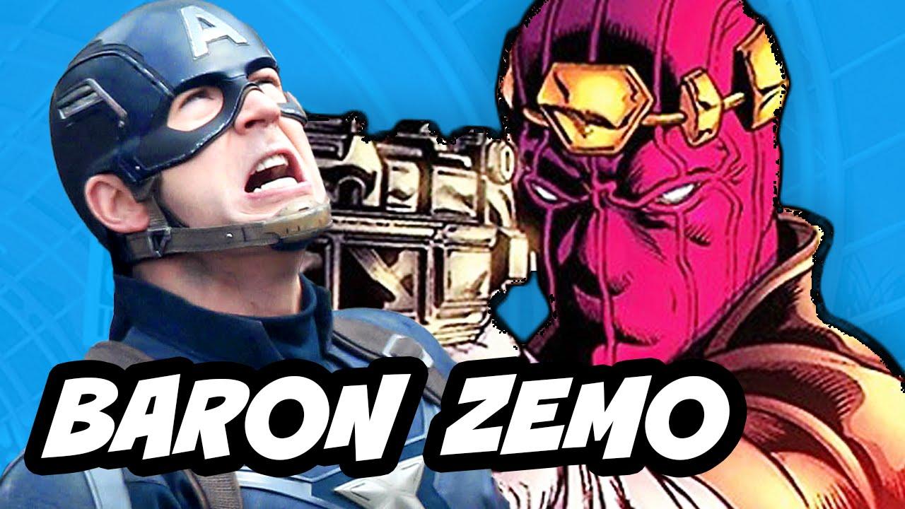 captain america civil war baron zemo explained youtube