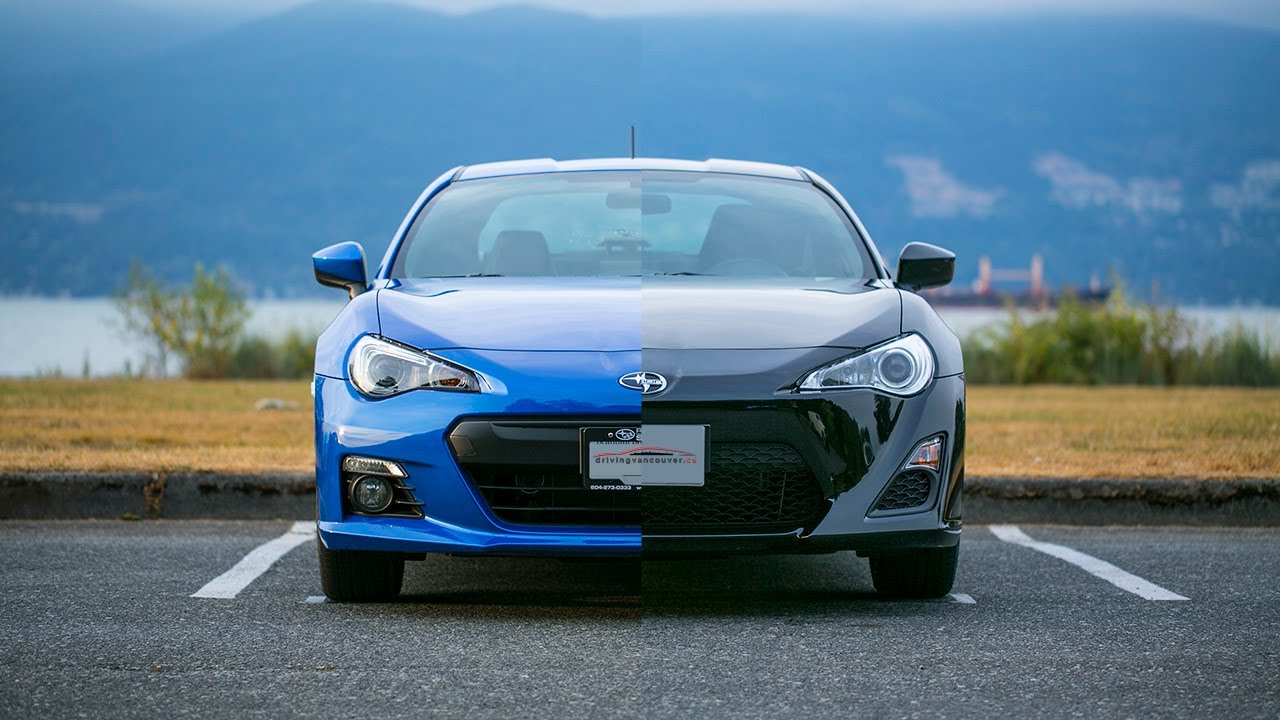 subaru brz vs scion frs