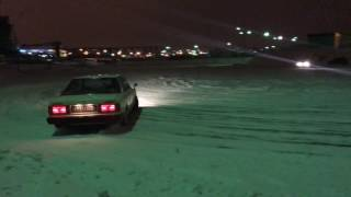 Nissan Bluebird 910 winter drift