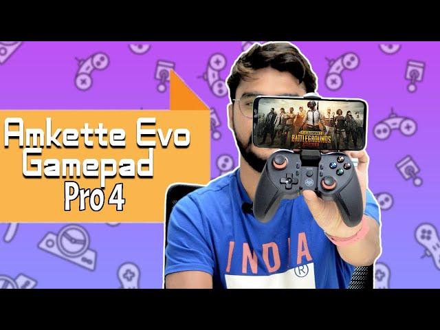 Amkette Evo Gamepad Pro 4 First Impressions