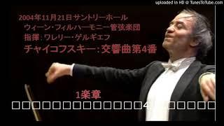 2004年11月21日サントリーホール ウィーンフィルハーモニー管弦楽団 指...
