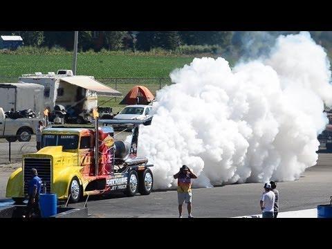 Shockwave Jet Truck at Cayuga, Ontario.