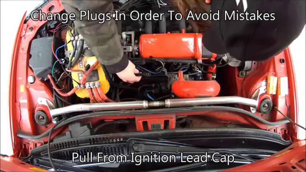 how to change out spark plugs