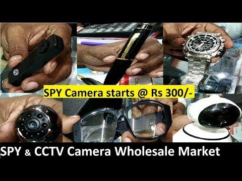 SPY & CCTV Camera [Wholesale/Retail] Market In Karol Bagh | Cheapest SPY Camera Starts @ 300rs