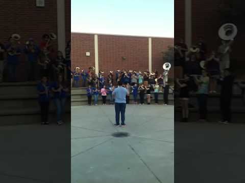 Will C Wood High School Prep for Cal Band Day 2016