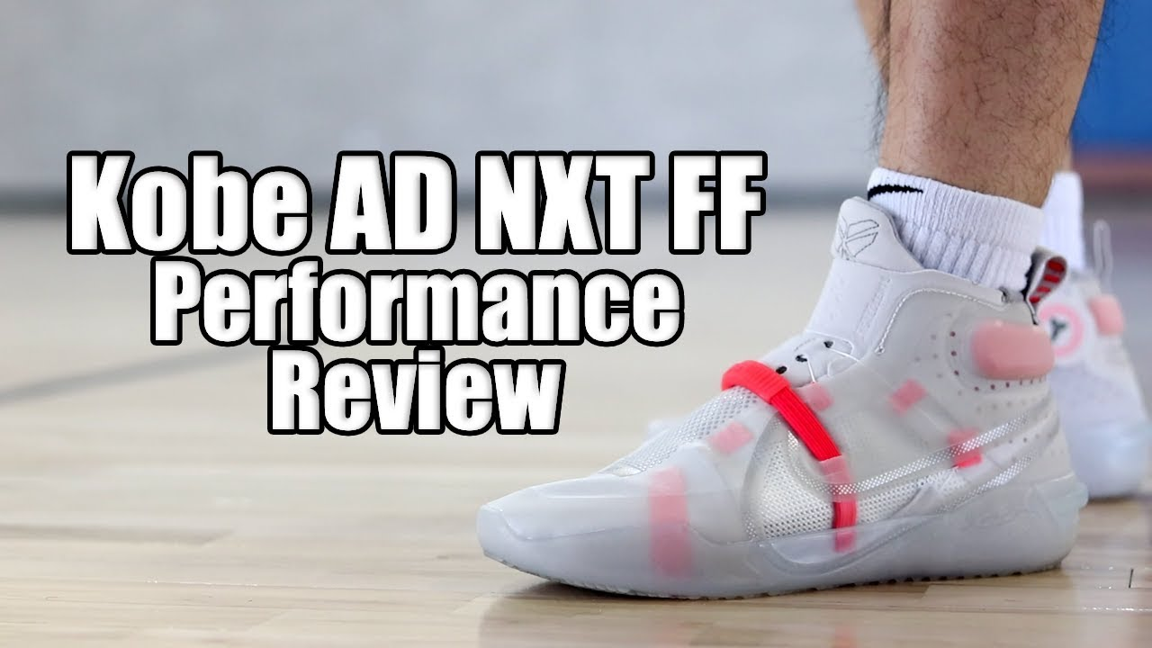 Nike Kobe AD NXT FF (FastFit) Performance Review