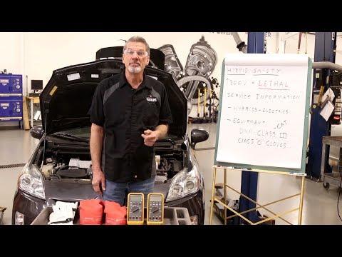 Working On High Voltage Vehicles