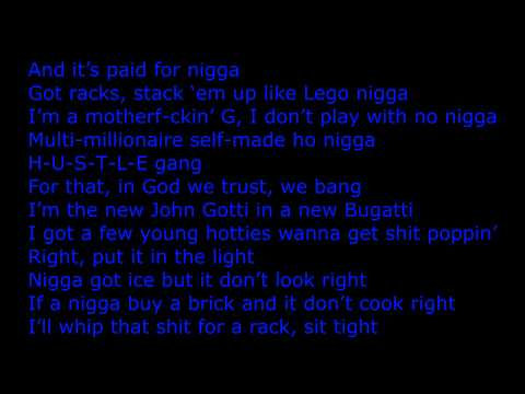 Ace Hood - Bugatti (Remix) Feat. Wiz Khalifa, T.I., Meek Mill..ect [lyrics on screen]