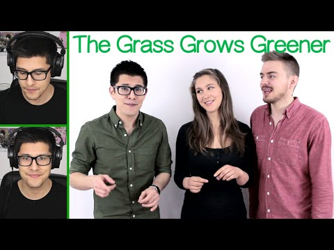 The Grass Grows Greener (The Real Group) - Danny Fong Feat. David Lane and Meg Contini