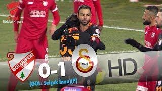 Boluspor: 0 - Galatasaray: 1 | Gol: Selçuk İnan (P)