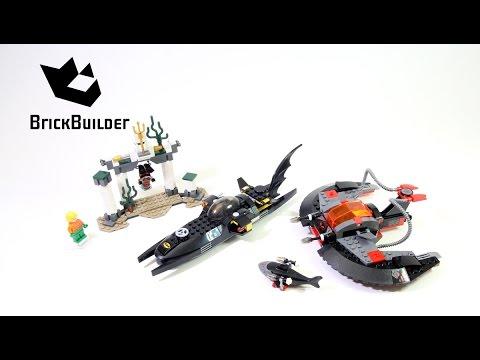 Lego Super Heroes 76027 Black Manta Deep Sea Strike - Lego Speed Build