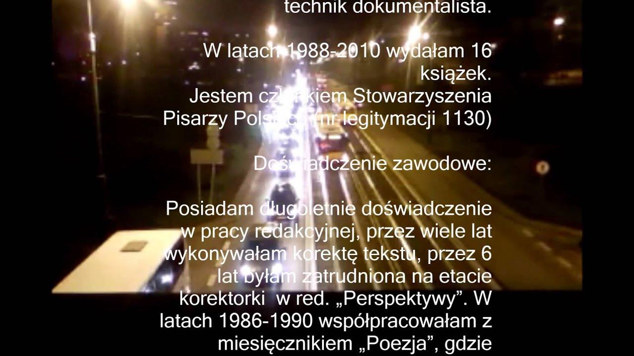 Zaduszki Poetyckie Miasto Wiersz Ewy Tomaszewskiej