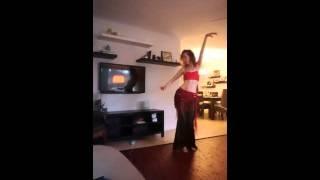 Cat Interrupts Belly Dancer