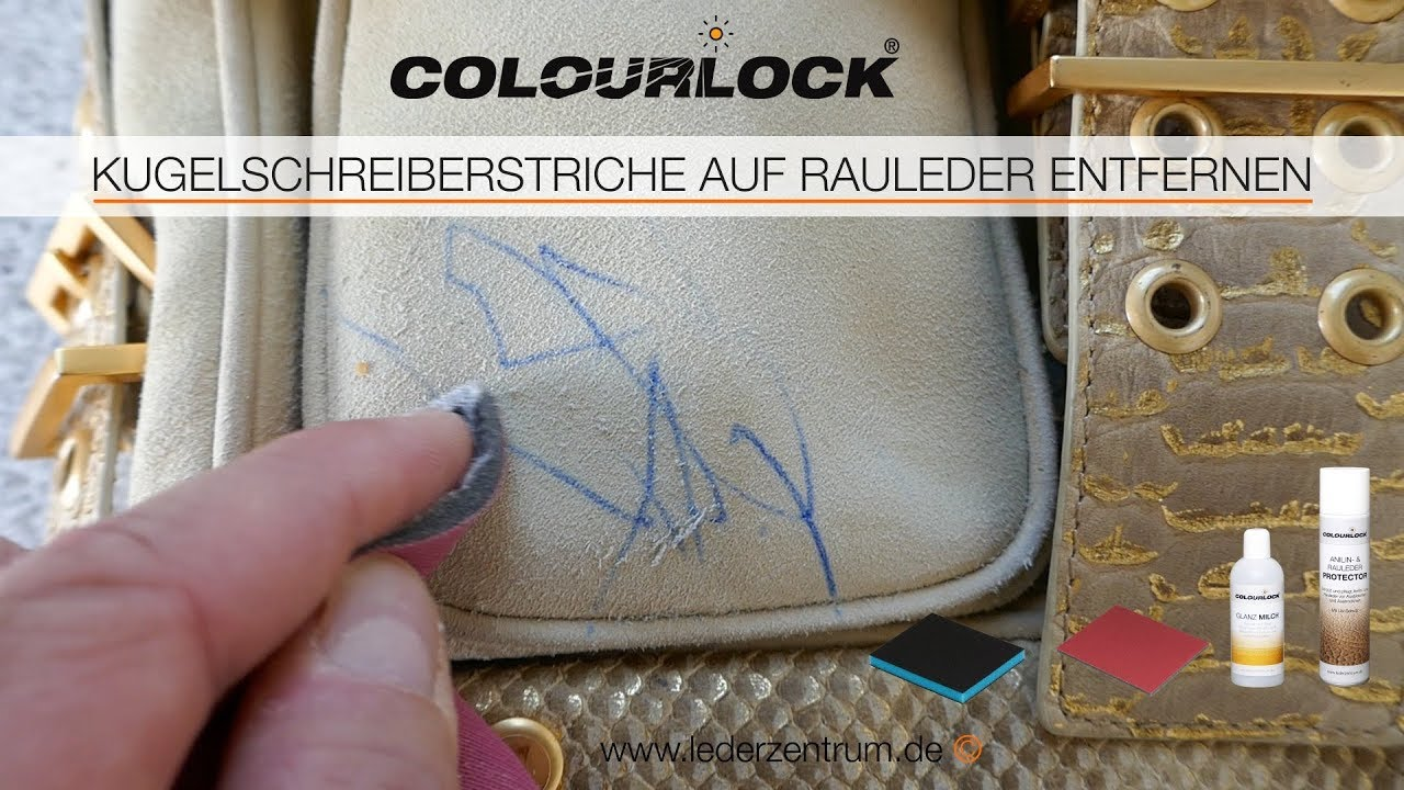 Ledersofa Flecken Entfernen How To Remove Pen Strokes On Nubuck And Suede