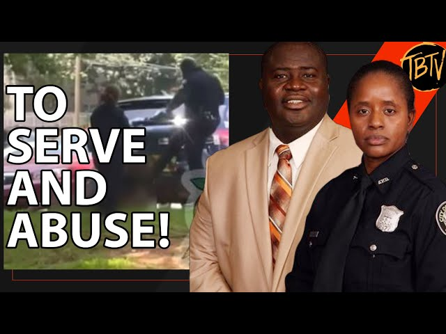 Two ATL Officers Suspended After Kicking Woman | Tim Black