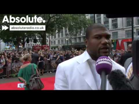 A-Team interview: Quinton 'Rampage' Jackson at 'The A-Team' premiere