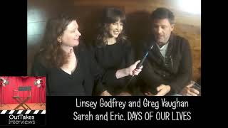 Linsey Godfrey and Greg Vaughan  – OutTakes at Day of DAYS 2018
