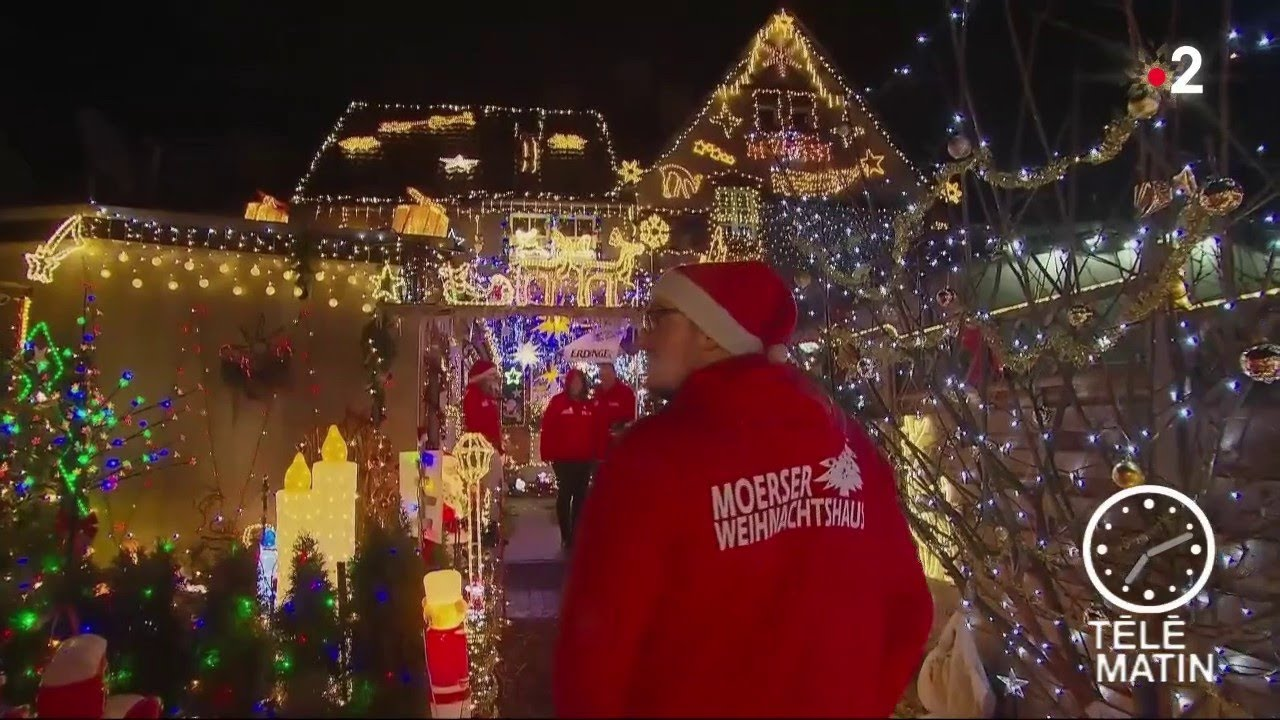 Sans Frontieres La Plus Belle Maison De Noel En Allemagne