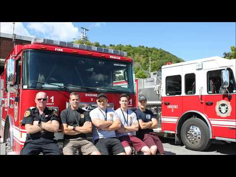 Corner Brook Fire Department Fire Fit Team  Regional Competition
