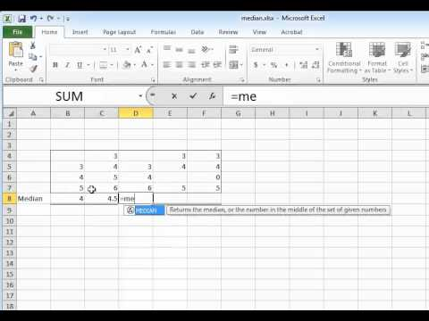 how to get standard deviation in excel 2010