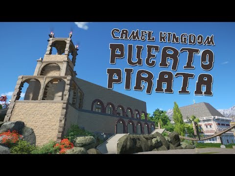 Planet Coaster Camel Kingdom - Puerto Pirata (1)