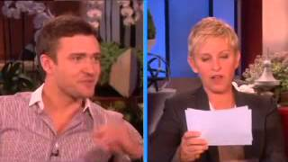 Most popular interview clips of Justin Timberlake  with ellen  on the ellen show