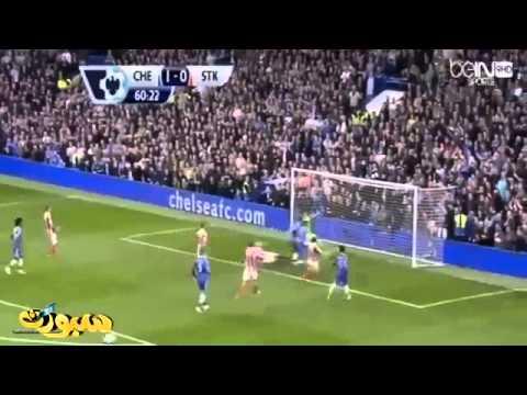 Chelsea vs Stoke City 3-0 All Goals & Highlights 5/4/2014
