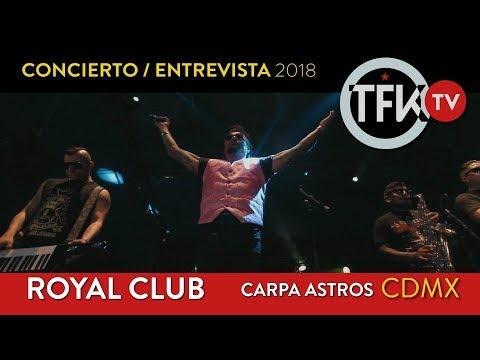 Royal Club Concierto:Entrevista TFKTV